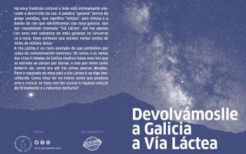 Poluição luminosa na Galiza